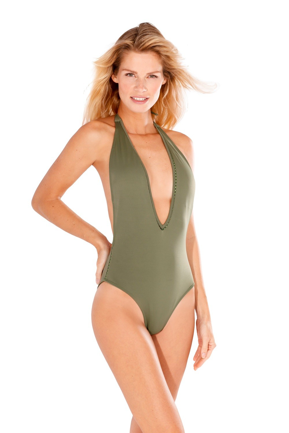 Kai One Piece in Forest Green