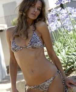 Jasmine Bikini in Zebra