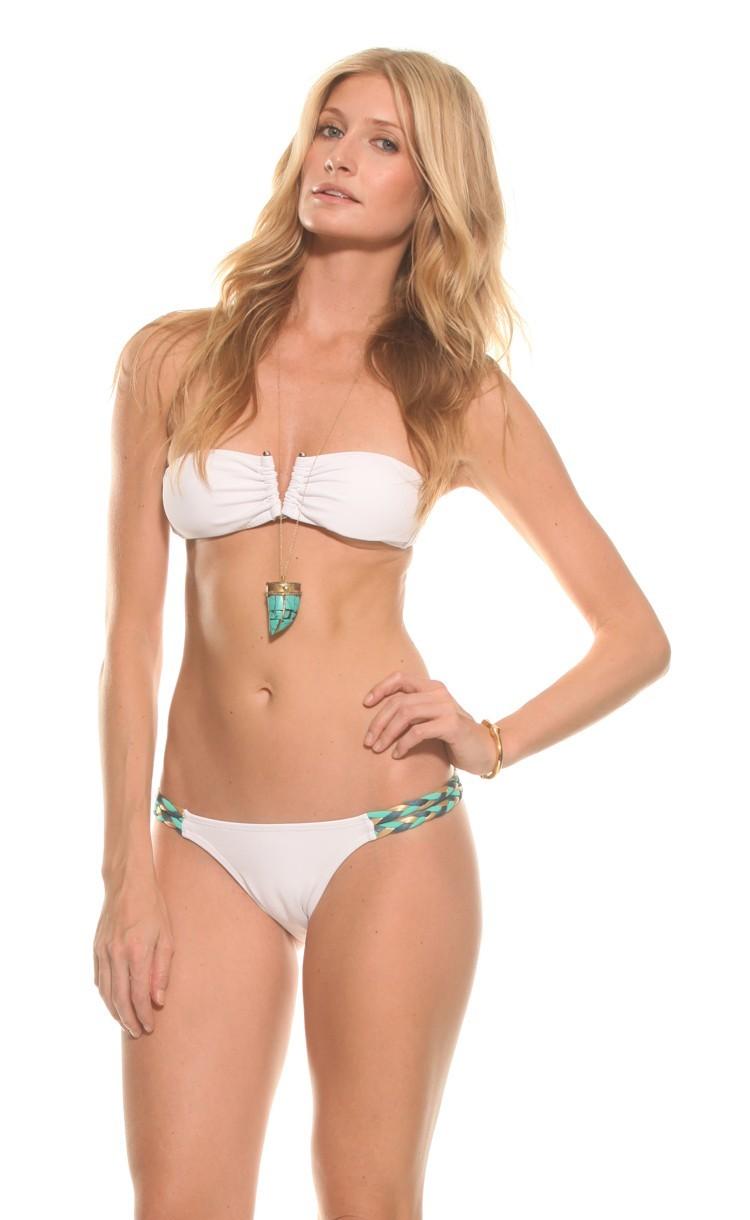 Tito Bikini in White Bikini