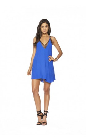 Ginger Dress in Cobalt