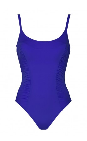 Summer Solids One Piece Swimsuit in Dazzling Blue