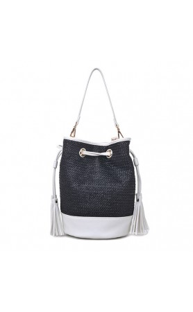 Elsa Bag in Black/White
