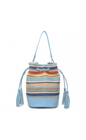 Elsa Bag in Multi Blue