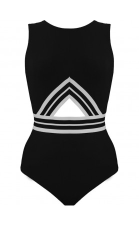Parallel High Neck Tank with Keyhole Back and Hook