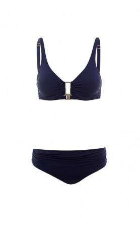 Bel Air Underwire Top & Bottom in Navy