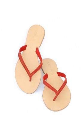 Biasa Sandals in Red