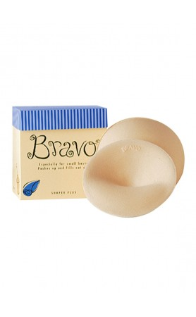 Shaper Plus Bravo Pads in Nude