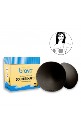 Double Shaper Bravo Pads in Black
