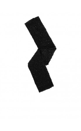 Elastic Belt in Solid Black
