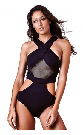 Body Cool One-Piece Swimsuit in Black