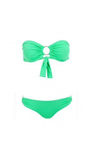 Evita Bikini Top in Green