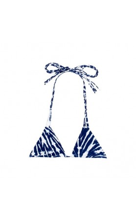 Kirra Triangle Top in Wave Costal Blue