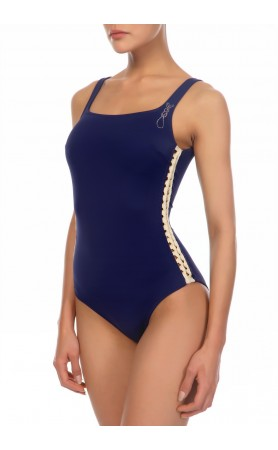 M.2787-16US  One-Piece Swimsuit in Navy