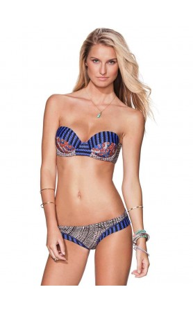 Beaded Beat Bikini Top