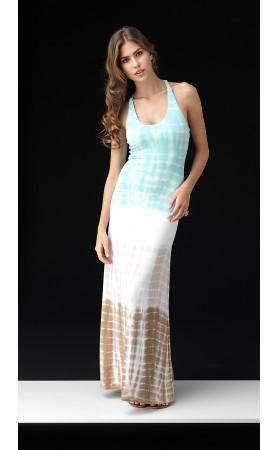 Mangala Maxi Dress in Light Blue