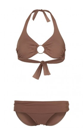 Brussels Underwire Bikini in Mocha