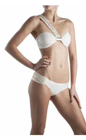 Palmacea Swimwear Shells of the Sea Bandeau Top Bikini