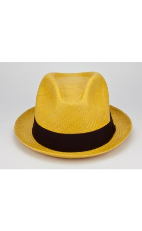 Paulmann Hats  Avocado Panama Hat in Yellow  at Pesca Boutique