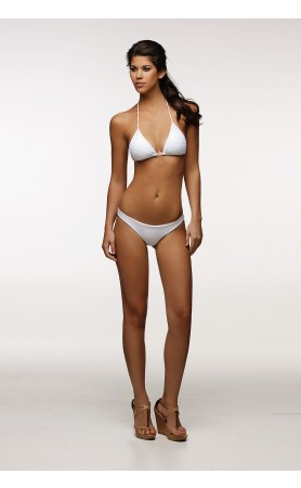 Amore Puro Bikini in Textured White Amore