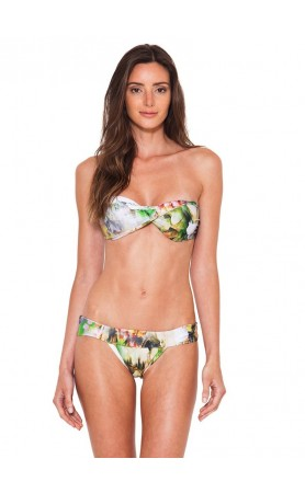 Monet Twist Bandeau Top & Banded Bottom