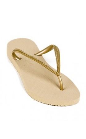 Havaiana Slim Gold Sandals