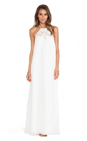 Mahalo Maxi Dress in Ivory