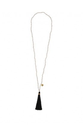 Satya Necklace in Black