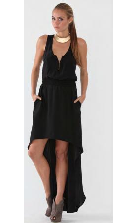 Dahlia Dress in Black