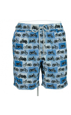 AUB613 Motorcycle Swim Trunks