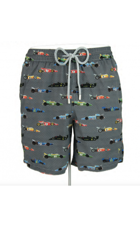 AUB603 Race Car Swim Trunks