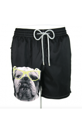 AUB621 Bulldog Swim Trunks
