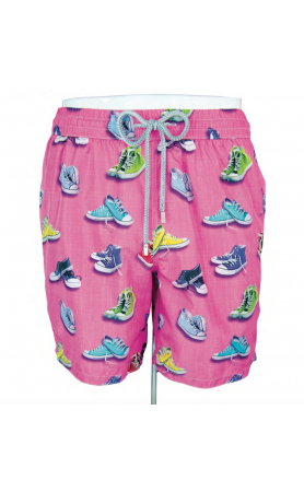 AUB631 Converse Sneakers Swim Trunks