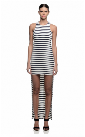 Wilka Knit Dress in Stripe