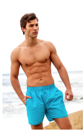 Euro Beach Short in Aqua