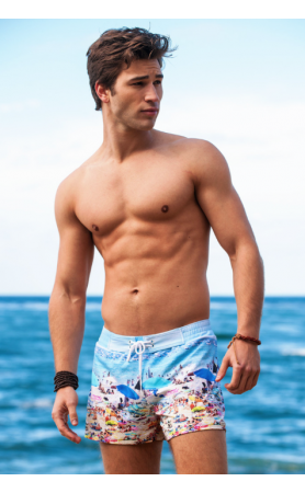 Miami Collection Key West Retro Lycra Swimmer