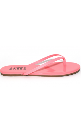 TKEES Lip Gloss in Floral Punch Sandals