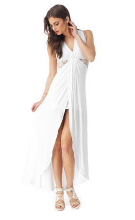 Tonnica Maxi Dress in White
