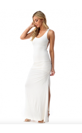 Shainnon Maxi Dress in White