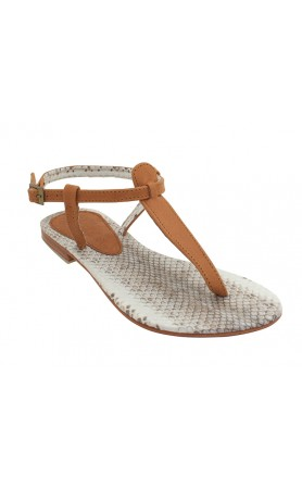 Sophie Sandals in Brown