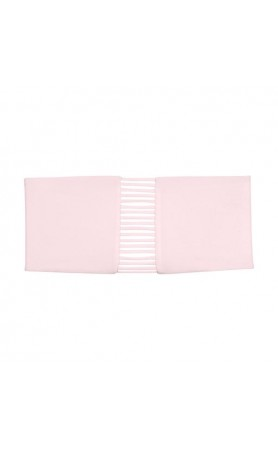 Sunset Bandeau Top in Cloud Pink