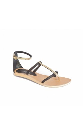 Tanzania Sandals in Black