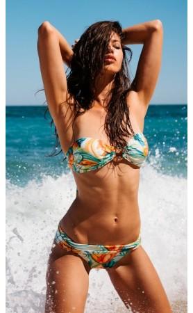 Tatania Bandeau Bikini in Print