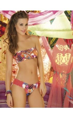 Paradizia Swimwear Festival Bandeau Top Bikini